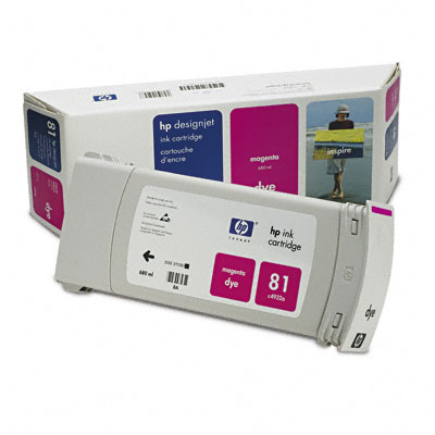 HP-81--C4932A--CARTUS-COLOR-MAGENTA