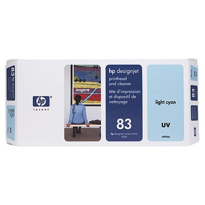 HP-83-UV--C4964A--PRINTHEAD-CLEANER-LIGHT-CYAN