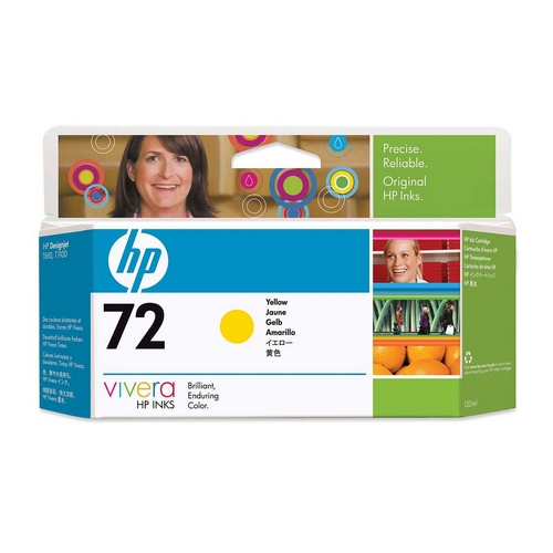HP-72--C9373A--CARTUS-COLOR-YELLOW