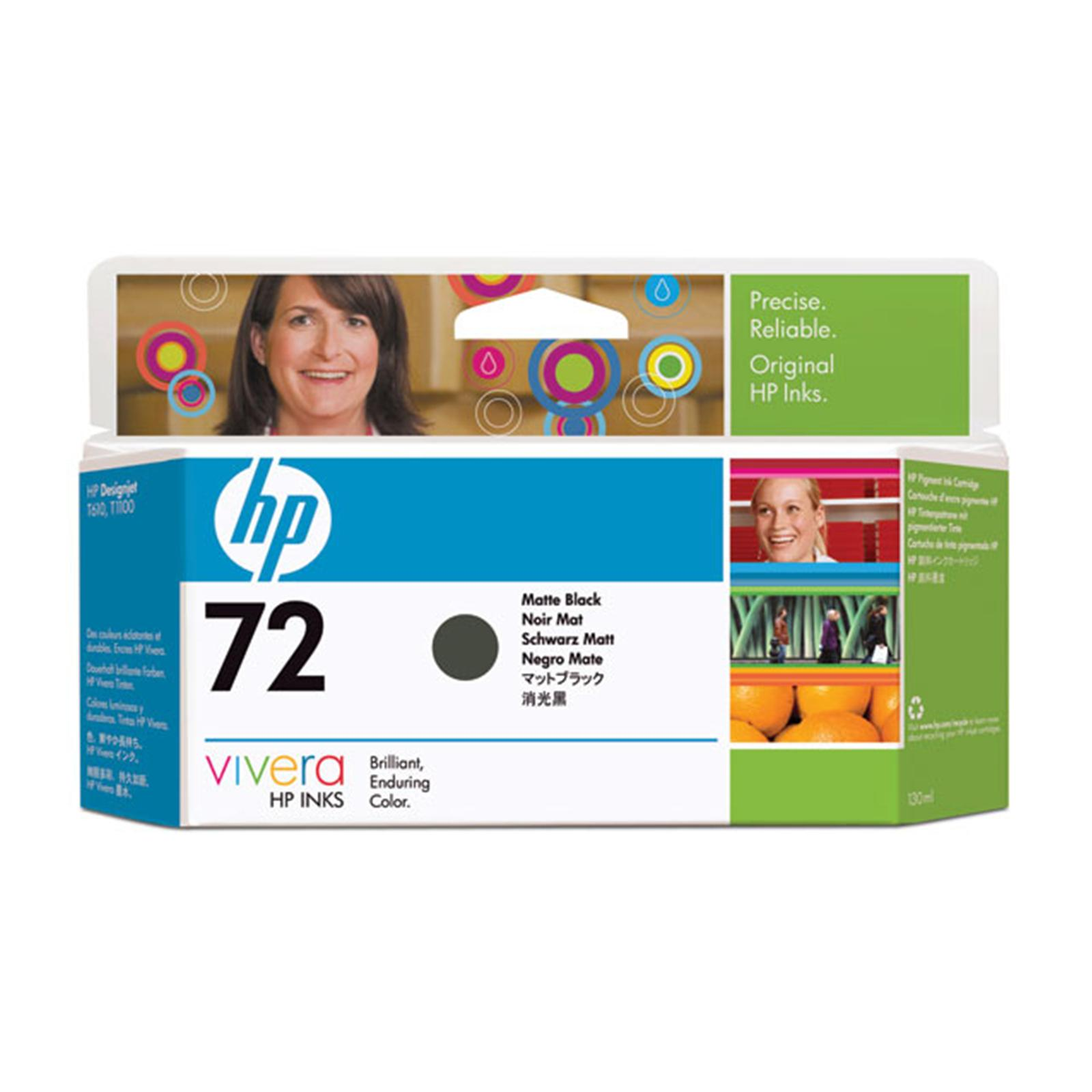 HP 72 (C9403A) CARTUS BLACK MAT