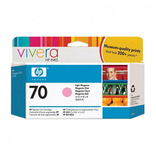 HP 70 (C9455A) CARTUS COLOR LIGHT MAGENTA