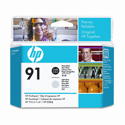 HP-91--C9463A--PRINTHEAD-PHOTO-BLACK-SI-LIGHT-GREY