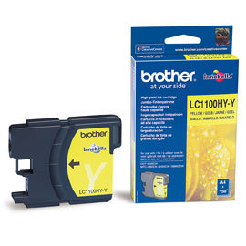 BROTHER-LC1100HYY-CARTUS-COLOR-YELLOW-DE-CAPACITATE-MARE