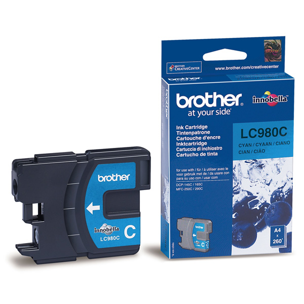 BROTHER-LC980C-CARTUS-COLOR-CYAN