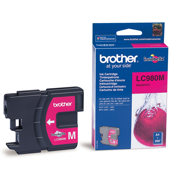 BROTHER-LC980M-CARTUS-COLOR-MAGENTA