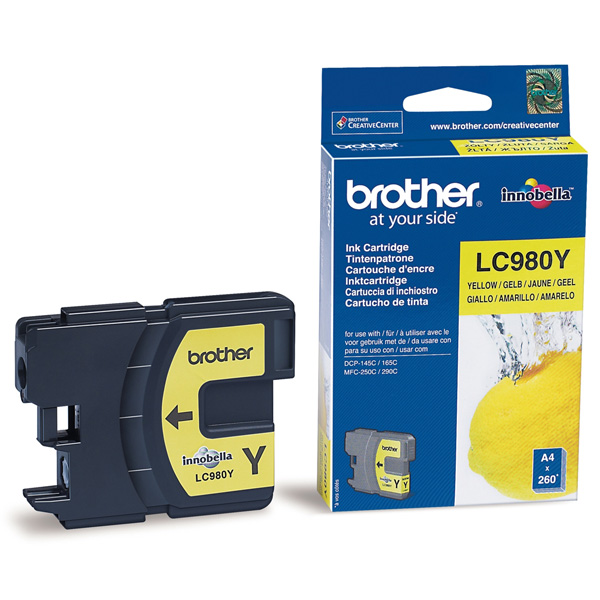 BROTHER-LC980Y-CARTUS-COLOR-YELLOW