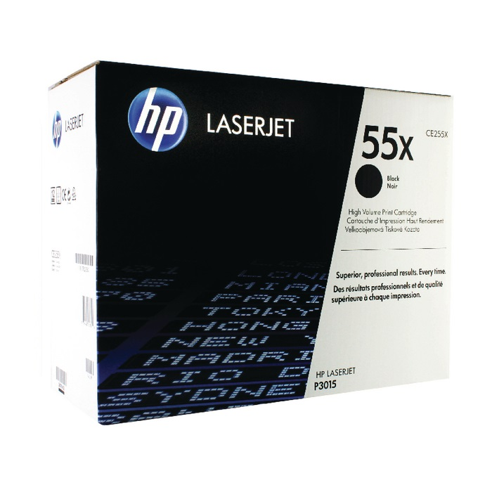 HP 55X (CE255X) CARTUS TONER BLACK