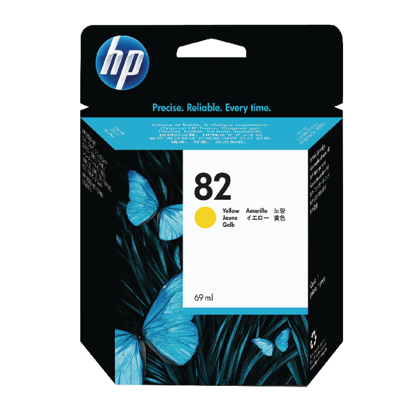 HP-82--CH568A--CARTUS-COLOR-YELLOW