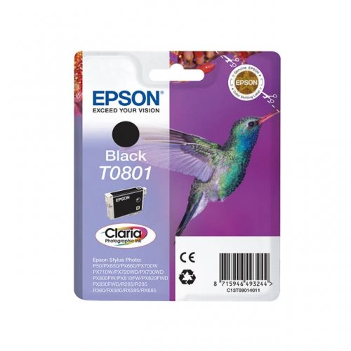 EPSON T0801 (C13T08014011) CARTUS BLACK
