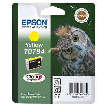 EPSON-T0794--C13T07944010--CARTUS-YELLOW