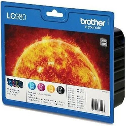 BROTHER-LC980-SET-MULTIPACK-4-CULORI