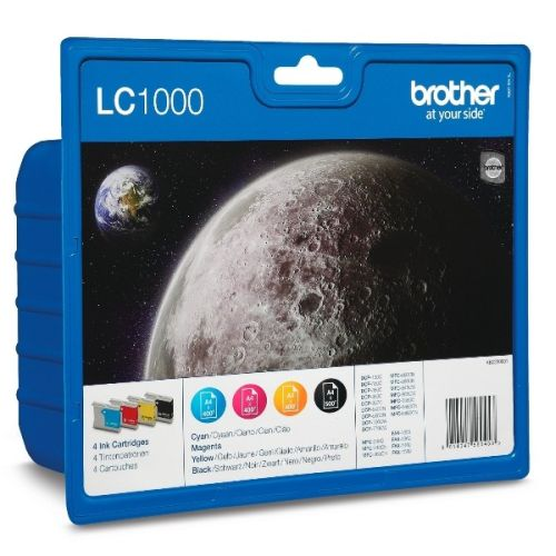 BROTHER-LC1000-SET-MULTIPACK-4-CULORI
