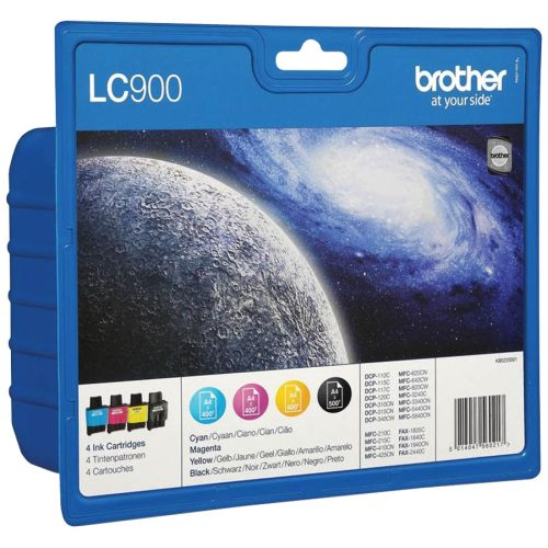BROTHER-LC900-SET-MULTIPACK-4-CULORI