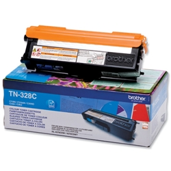 BROTHER-TN-328C-CARTUS-TONER-COLOR-CYAN-DE-MARE-CAPACITATE