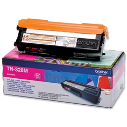 BROTHER-TN-328M-CARTUS-TONER-COLOR-MAGENTA-DE-MARE-CAPACITATE
