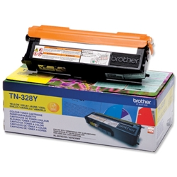BROTHER-TN-328Y-CARTUS-TONER-COLOR-YELLOW-DE-MARE-CAPACITATE