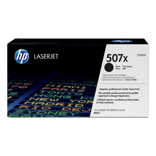 HP 507X (CE400X) CARTUS TONER BLACK