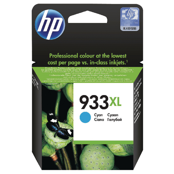 HP 933XL (CN054AE) CARTUS COLOR CYAN