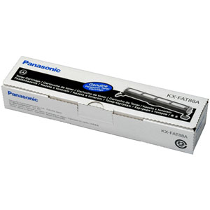 PANASONIC KX-FAT88 (KX-FAT88E) CARTUS TONER BLACK