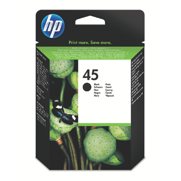 HP-45--51645AE--CARTUS-BLACK