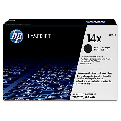 HP 14X (CF214X) CARTUS TONER BLACK