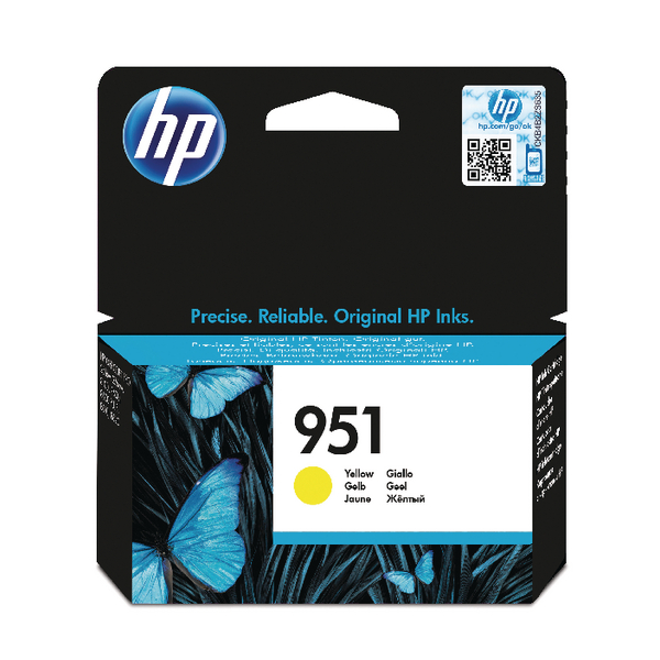 HP-951--CN052AE--CARTUS-YELLOW