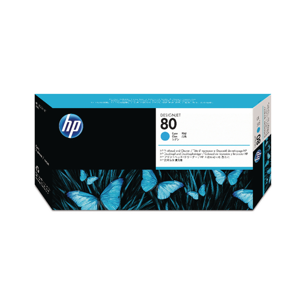HP-80--C4821A--PRINTHEAD-CLEANER-COLOR-CYAN