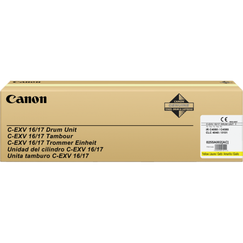 CANON-C-EXV16DR--C-EXV17DR-Imaging-Drum-Unit-YELLOW