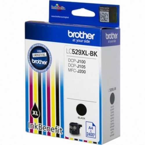 BROTHER-LC529XLBK-CARTUS-NEGRU