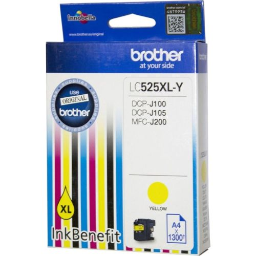 BROTHER-LC525XLY-CARTUS-YELLOW
