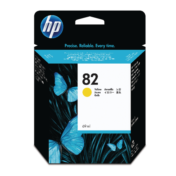 HP-82--C4913A--CARTUS-COLOR-YELLOW