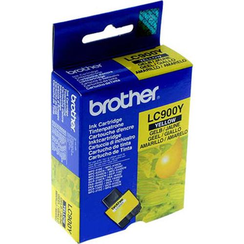 BROTHER-LC900Y-CARTUS-YELLOW