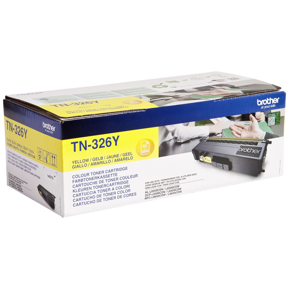 BROTHER-TN-326Y-CARTUS-TONER-YELLOW