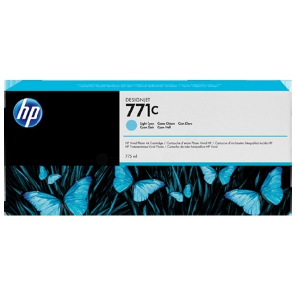 HP-771C--B6Y12A--CARTUS-COLOR-LIGHT-CYAN
