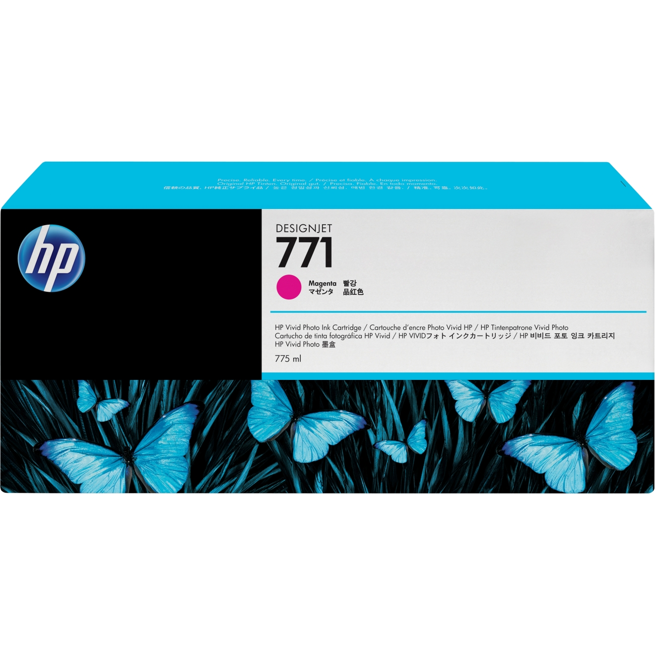 HP-771C--B6Y09A--CARTUS-COLOR-MAGENTA