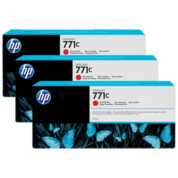 HP-771C--B6Y32A--CARTUS-COLOR-ROSU-CROMAT-3pack