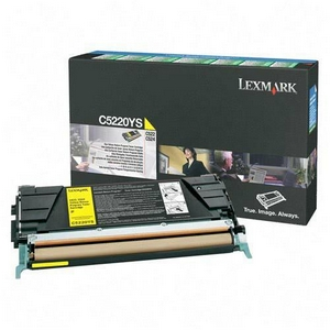LEXMARK-C5220YS-CARTUS-TONER-YELLOW