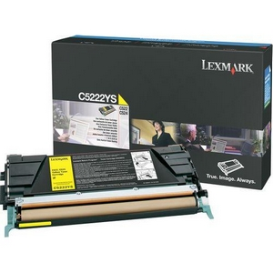 LEXMARK-C5222YS-CARTUS-TONER-COLOR-YELLOW