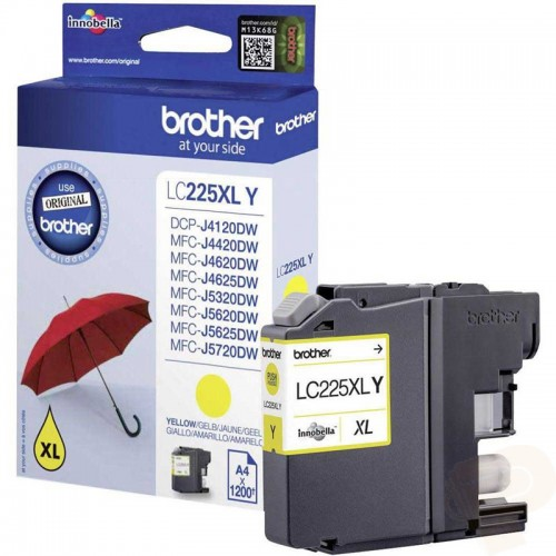 BROTHER-LC225XLY-CARTUS-COLOR-YELLOW