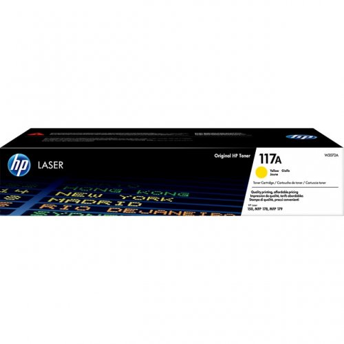 HP-117A--W2072A--CARTUS-TONER-YELLOW