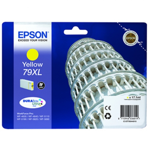 EPSON-97XL--C13T79044010--CARTUS-YELLOW